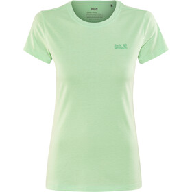 Jack Wolfskin Essential T-Shirt Damen pale mint
